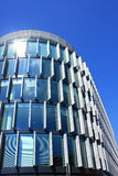 Modern building. With the sun Royalty Free Stock Photography