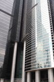 Modern building. One of business building in HK royalty free stock image