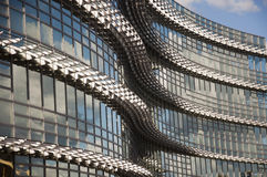 Modern building. Close up of modern building exterior royalty free stock images