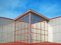 A modern building. Royalty Free Stock Photo
