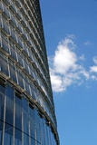 Modern building. Of glass and metal Royalty Free Stock Image