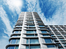 Modern building. Modern residential or office building in London Stock Photos