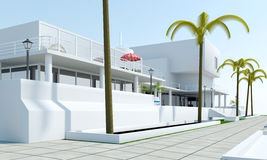 Luxury Villa Royalty Free Stock Image