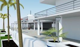 Luxury Villa Stock Images