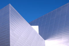 Modern Building 21. Modern building of the future in bright sunlight Royalty Free Stock Images