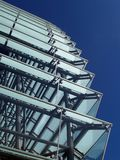 Modern building. Detail of a moder office building Royalty Free Stock Photography