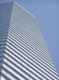 Modern building. View of a modern building from below royalty free stock photography