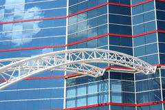 Modern Building. Modern glass office building at Texas Motor Speedway Stock Photography