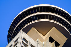 Modern Building. Detail of Harbour Center in Downtown Vancouver, BC, Canada Stock Photos