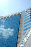 Modern building. Modern exhibition, office and hotel building in Odessa harbor area Stock Images