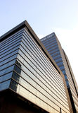 Modern building. The large building in the afternoon Royalty Free Stock Photos