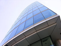 Modern building. In city Royalty Free Stock Image
