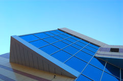 Modern building. Wall of new modern office building Stock Images