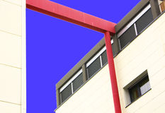 Modern building. Seen from below Stock Photography