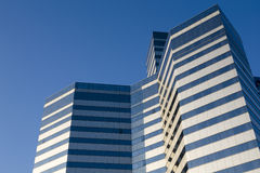 Modern building. Image of a modern building in Beijing royalty free stock photo