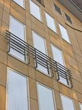 Modern building. � windows royalty free stock images