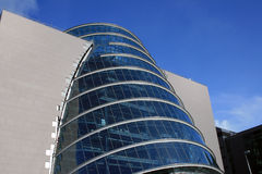 Modern building. A modern building in the Docklands of Dublin Royalty Free Stock Photography