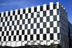 Modern building. A modern building in the Docklands of Dublin Royalty Free Stock Images