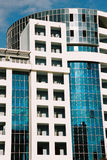 Modern building. With windows Royalty Free Stock Photos