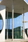 Modern building. In Berlin seen from the river Spree Royalty Free Stock Images