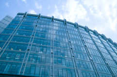 Modern building. Image of a modern new building in BEIJING stock photo