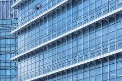 Modern building abstract background. Exterior of modern office building stock image