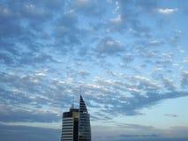 Modern building, against the sky. Royalty Free Stock Photos