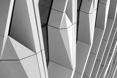 Modern building. In Almere Holland Royalty Free Stock Photos