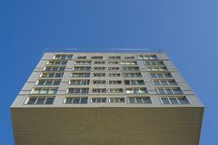 Modern. Building in Almere , Holland Stock Image