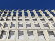 Modern building aluminum  facade Stock Image