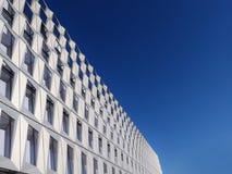 Modern building aluminum  facade Royalty Free Stock Image