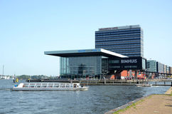 Modern building in Amsterdam Netherlands Stock Images