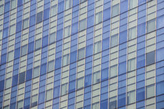 Modern building architecture windows Royalty Free Stock Photos