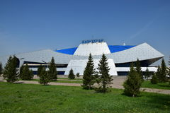 Modern building in Astana Royalty Free Stock Image