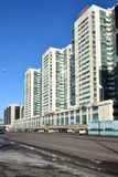 Modern building in Astana, Kazakhstan Stock Images