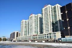 Modern building in Astana, Kazakhstan Royalty Free Stock Photos