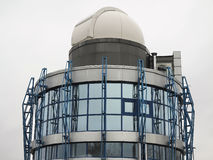 Modern  building of astrological observatory telescope dome Royalty Free Stock Photo
