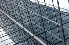 Modern Building Background. Close-up of a modern building stock image
