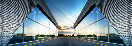 Modern building background Royalty Free Stock Photos