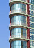 Modern building. Beautiful modern building and Europe Royalty Free Stock Photo