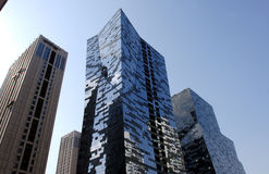 Modern Building in beijing. The modern buildings in the beijing city stock photography