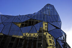 Modern building in Bilbao Royalty Free Stock Photography