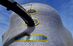 Modern building in Birmingham city stock photography