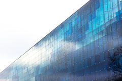 Modern building with blue glass Stock Image