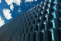 Modern building with blue sky Royalty Free Stock Photo