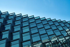 Modern building with blue sky Royalty Free Stock Photography