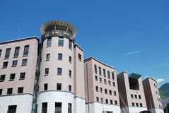 Modern Building, Bolzano,Italy stock photo