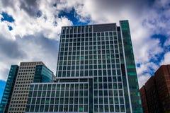 Modern building in Boston, Massachusetts. Royalty Free Stock Photography