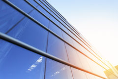 Modern building. Business background with copyspace Royalty Free Stock Photo