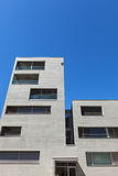 Modern building in cement, exterior Stock Images